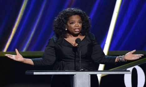Swiss store: Oprah spat a 'misunderstanding'