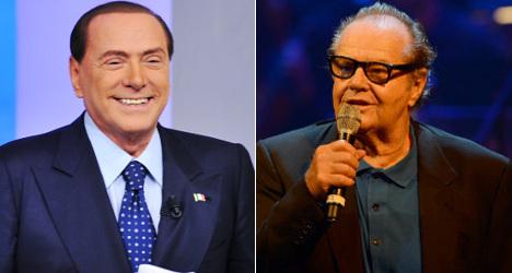 Jack Nicholson favourite to play Berlusconi