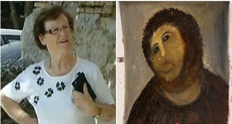 'They didn't let me finish': 'Monkey Jesus' artist