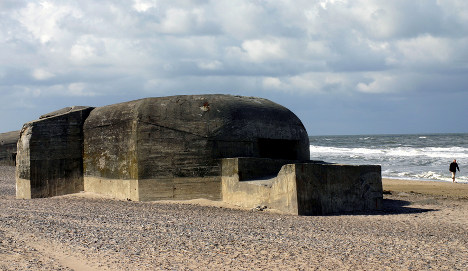Wind and waves conquer Hitler's Atlantic Wall
