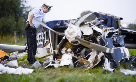 Child and four adults killed in plane crash