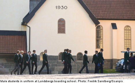 Shock and rage as elite Swedish school closes