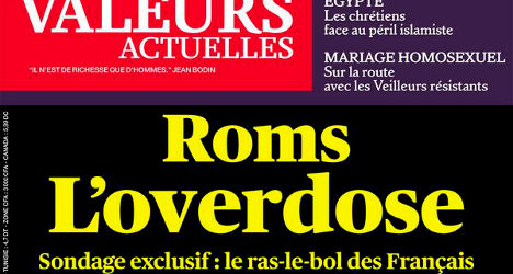 'Roma overdose': Mag's cover story sparks uproar