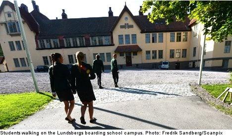 Principal sacked at elite Swedish boarding school