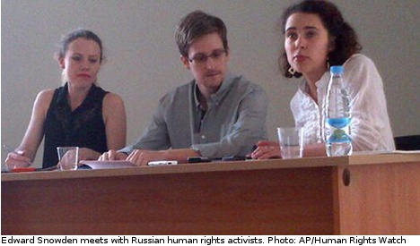 Norway daily: Guardian right in Snowden scandal