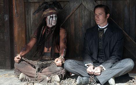 New in German cinemas: 'The Lone Ranger'