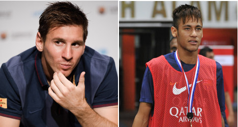 Barça bank on Messi–Neymar pairing