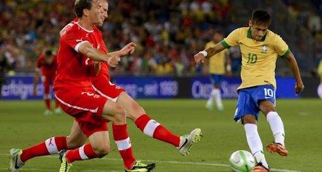 Switzerland stuns Brazil with 1-0 home victory