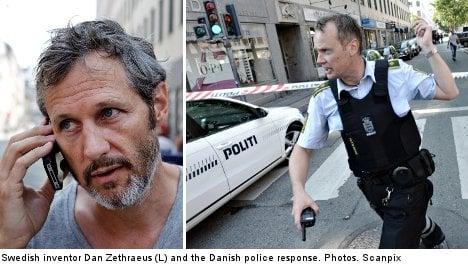Swedish inventor sparks Denmark bomb scare