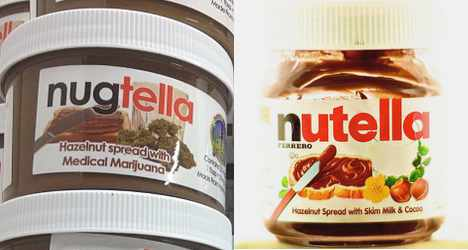 Cannabis-laced 'Nugtella' hits the market
