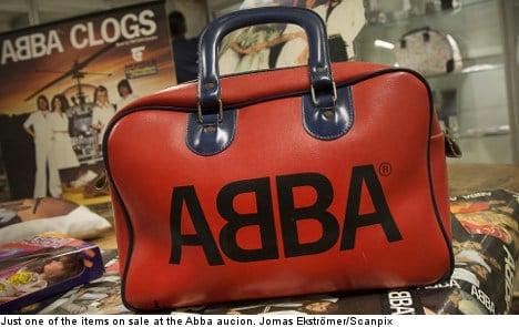 Abba auction rakes in the Money, Money, Money