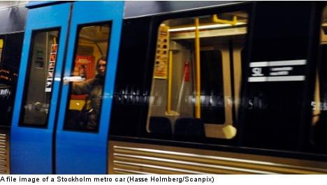 'Graffiti artist' hit by Stockholm subway train