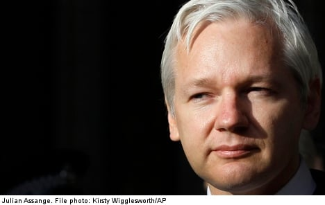Assange stays mum over Swedish sex crime case