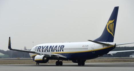 Hooligans run riot on Ryanair Ibiza flight