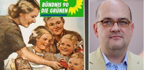 Greens' veggie pledge provokes Nazi jibe