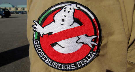 Spooked mayor calls the ghostbusters