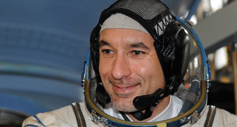 Italian astronaut tells of drowning horror