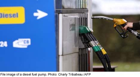 Thieves make 40,000 litre diesel raid