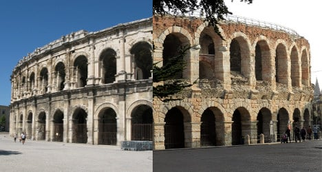 Tourist guide publisher confuses ancient arenas