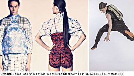 Swedish textile buffs shock staid fashion world