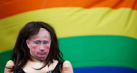 Madrid rejects Russia's 'homophobic' law