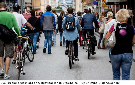 Swedish police fail to catch speeding cyclists