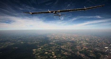 Solar aircraft returns from cross-US flight