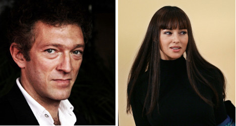 Italian-French film stars separate