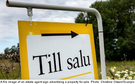 Home ad touts 'Swedish origin' neighbours