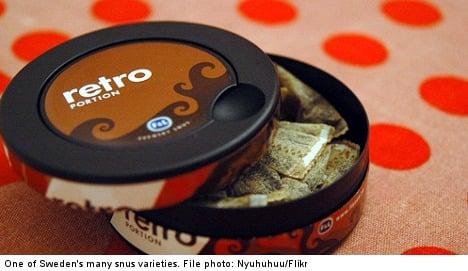 EU ban 'erases two-thirds of Swedish snuff'