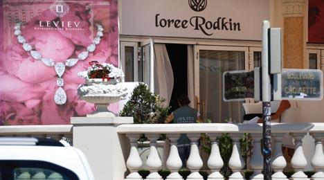 Thieves strike again with €40,000 Riviera raid