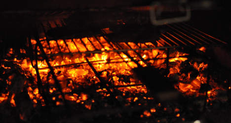 Frenchman burned alive in BBQ horror