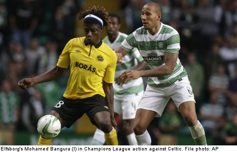 Elfsborg set for Celtic Champions League clash