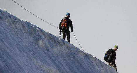 British soldier dies after 1,000-metre Mt. Blanc fall