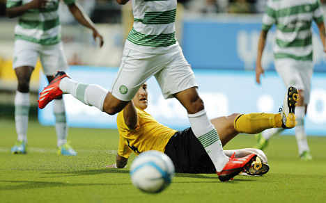 Celtic ends Elfsborg's Champions League bid