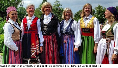 Is it time to bring back Swedish folk costume?