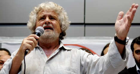 Grillo slams 'silent West' over Egypt massacres