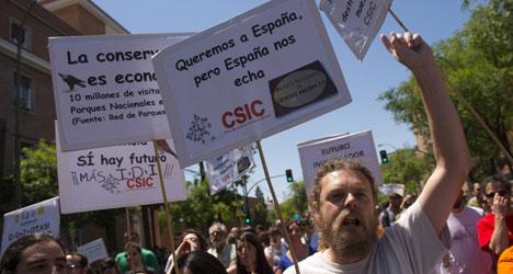 Expat scientists warn of Spain's brain drain
