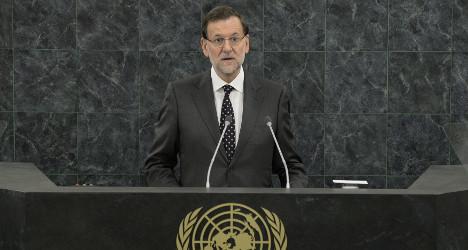 Spanish PM takes Gibraltar dispute to UN