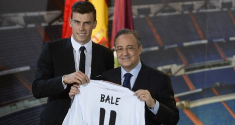 'Galácticos like Bale were cheap': Real president