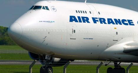 Gold worth €1.5m 'stolen' from Air France flight