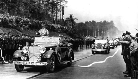 Hitler's last motorway to disappear