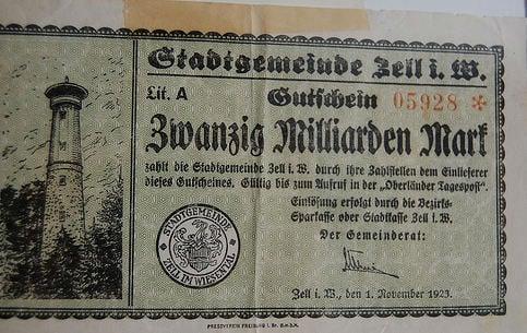 Half a billion reichsmarks found stashed in organ