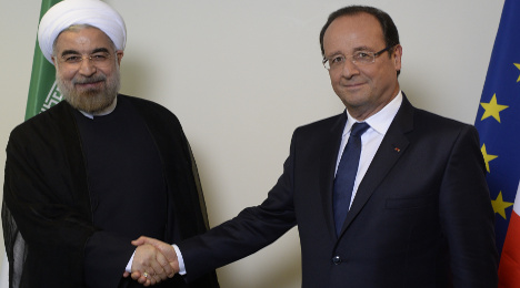 Hollande heralds 'first contact' with Rohani