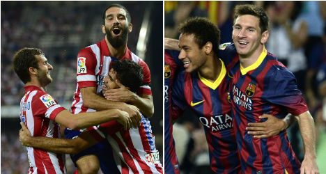 Barça and Atlético extend perfect Liga starts