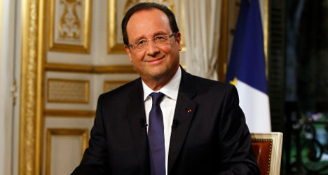 Hollande seeks to remind US of France's sway