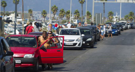 EU monitors look to end Gibraltar border woes