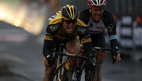 Swiss rider Cancellara tipped for glory