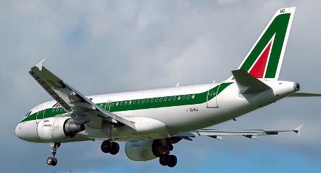 Alitalia jet skids off runway at Rome airport