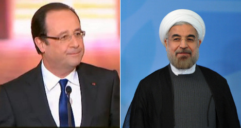Hollande to meet Iran's President at UN